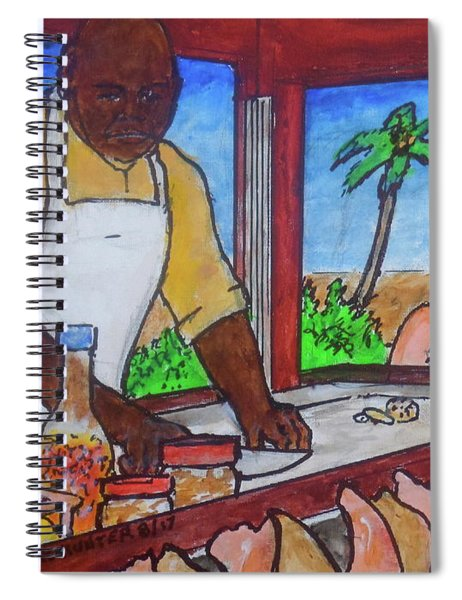 Nassau Conch Seller Spiral Notebook