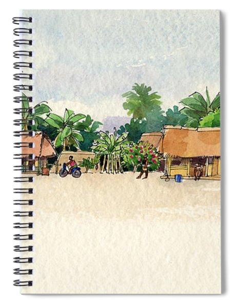 Nassau, Cook Islands, South Pacific Spiral Notebook