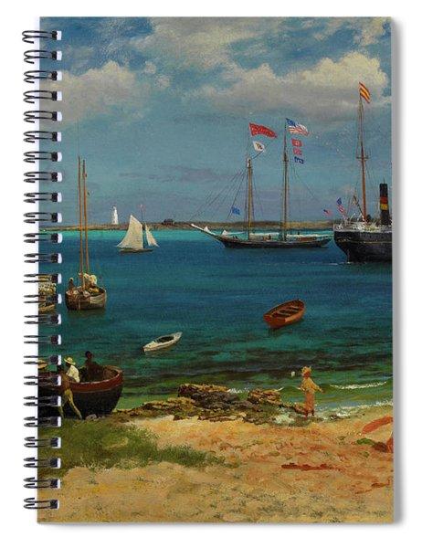 Nassau Harbor Spiral Notebook