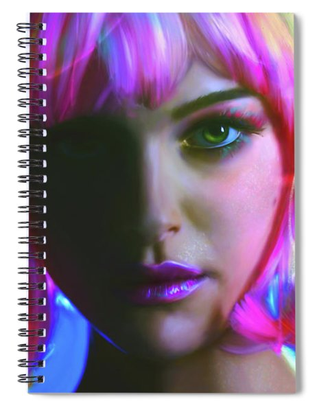 Natalie Spiral Notebook