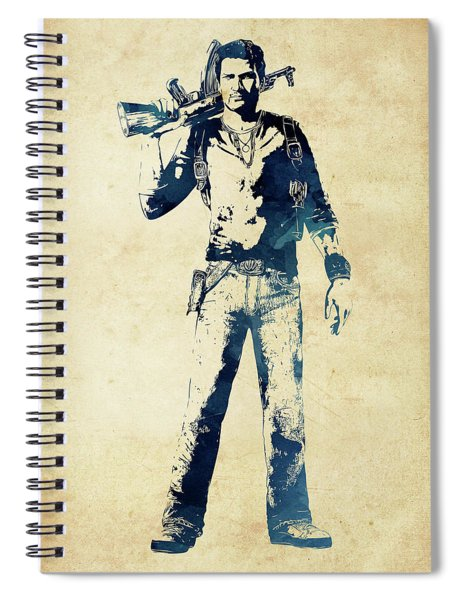 Nathan Drake Spiral Notebook