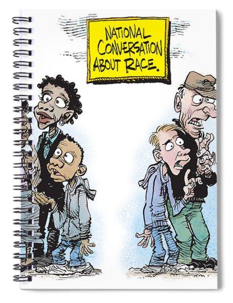 National Conversation About Race Spiral Notebook