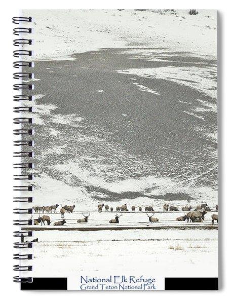 National Elk Refuge Spiral Notebook