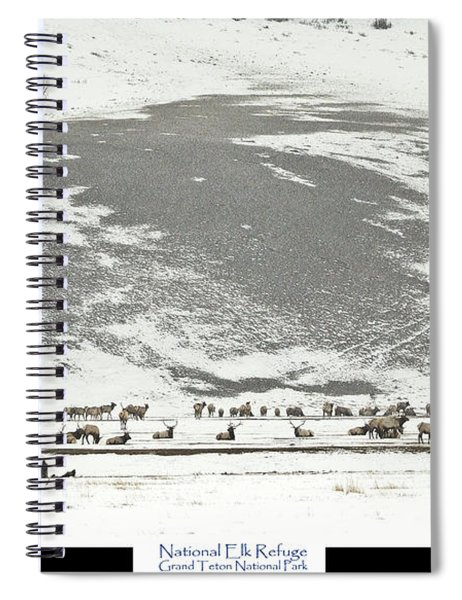National Elk Refuge Spiral Notebook