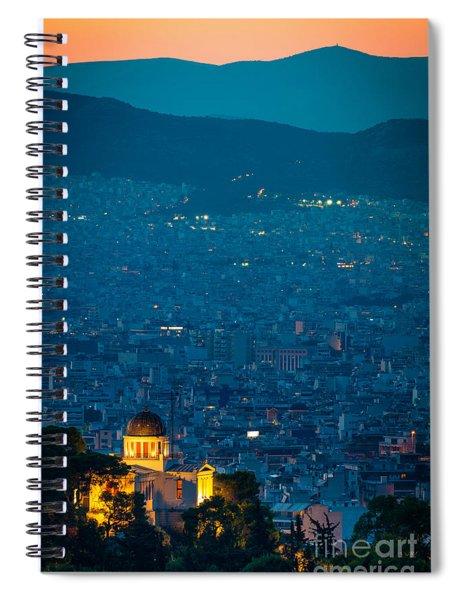National Observatory Of Athens Spiral Notebook
