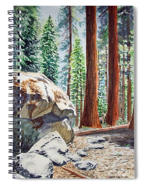 National Park Sequoia Spiral Notebook