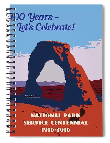 100 Years, National Park Service Centennial Spiral Notebook