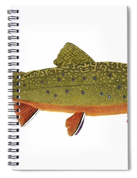 Native Brook Trout Spiral Notebook