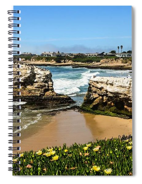 Natural Bridges State Park Beach Spiral Notebook
