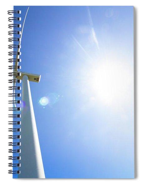 Natural Electricity Spiral Notebook
