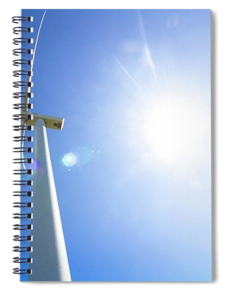 Natural Electricity Spiral Notebook