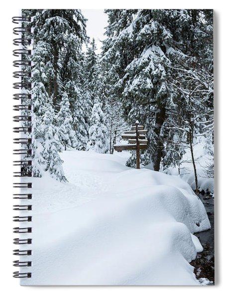 Natural Monument Oderteich, Harz Spiral Notebook