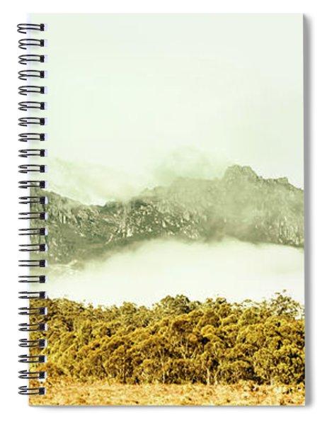 Natural Mountain Beauty Spiral Notebook