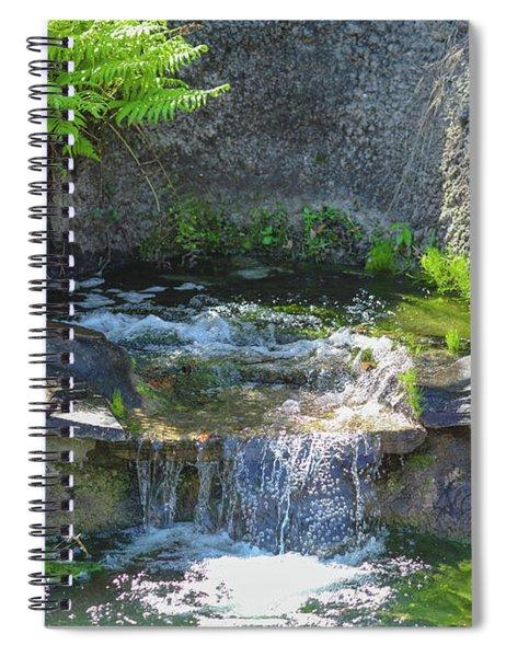 Natural Spa Zone Spiral Notebook