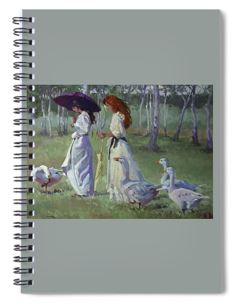 Nature's Compliments Spiral Notebook