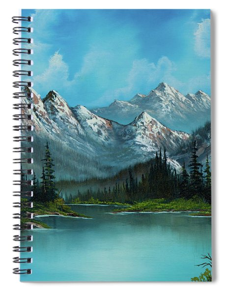 Nature's Grandeur Spiral Notebook