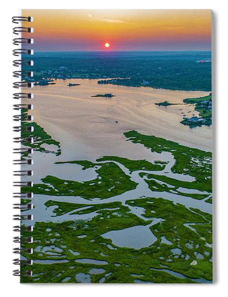 Natures Hidden Lines Spiral Notebook