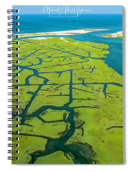 Natures Lines Spiral Notebook