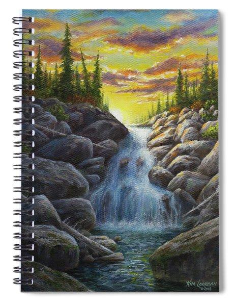 Nature's Prozac Spiral Notebook