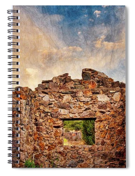 Nature's Roof Spiral Notebook