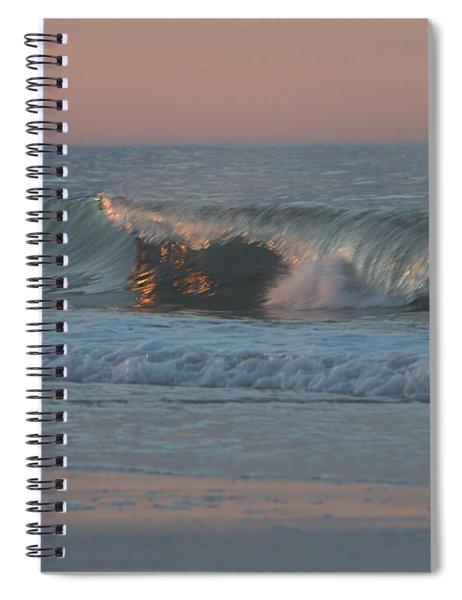 Natures Wave Spiral Notebook