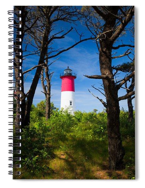 Nauset Lighthouse Spiral Notebook