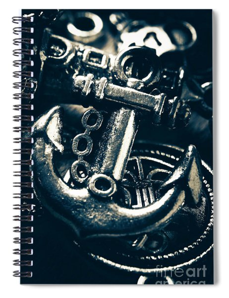 Nautic Blue Spiral Notebook