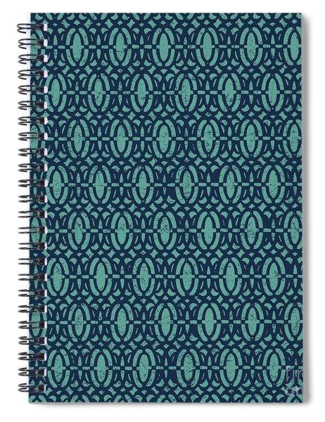Nautical Blues-c Spiral Notebook