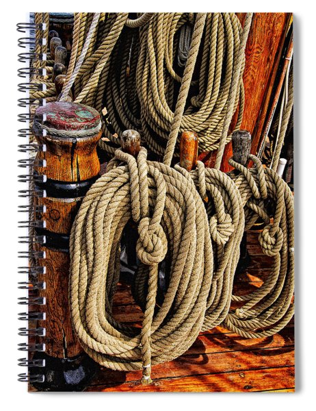 Nautical Knots 16 Spiral Notebook