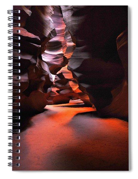 Navajo Magic Antelope Canyon Spiral Notebook
