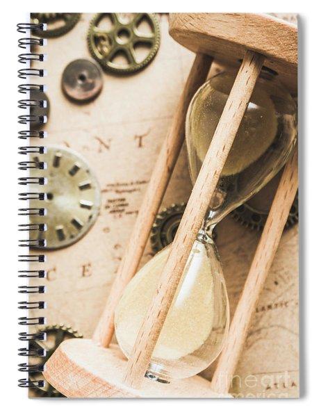 Navigating Vintage Time Spiral Notebook