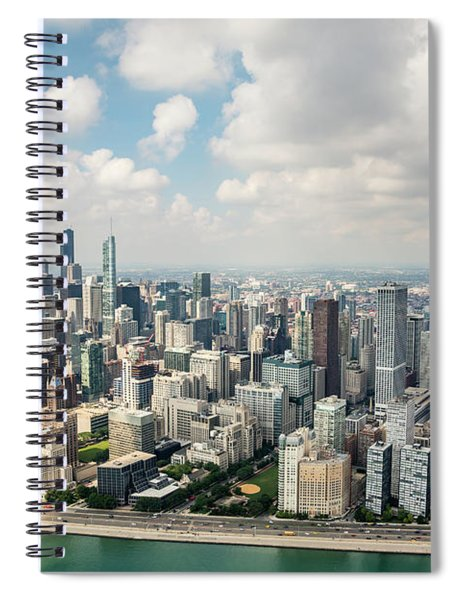 Near North Side And Gold Coast Spiral Notebook