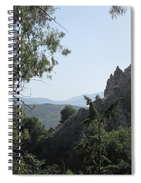 Near The Castle In Lanjaron Spiral Notebook