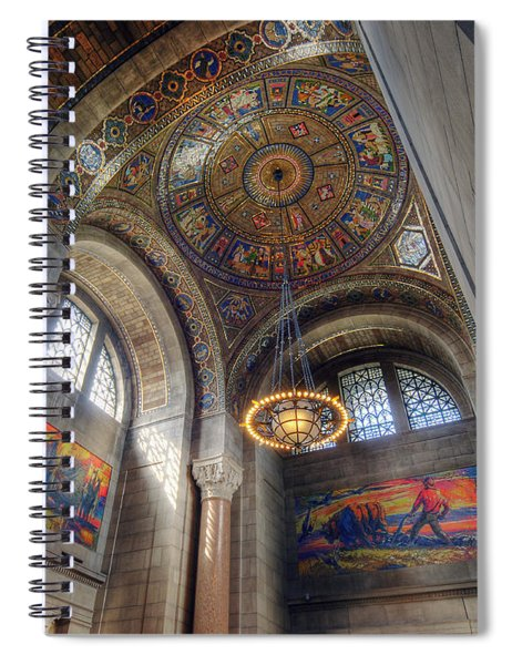 Nebraska State Capitol Spiral Notebook