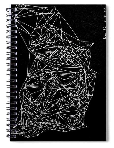 Nebulous Twice Spiral Notebook