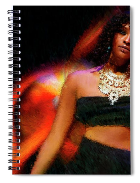 Necklace And Beauty Spiral Notebook