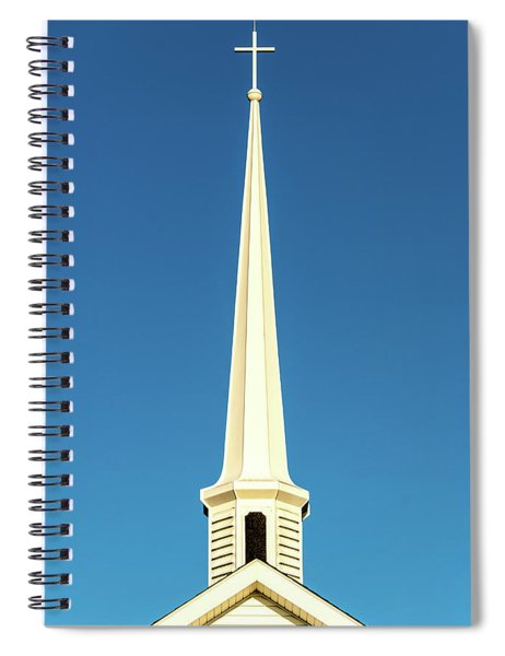Needle-shaped Steeple Spiral Notebook