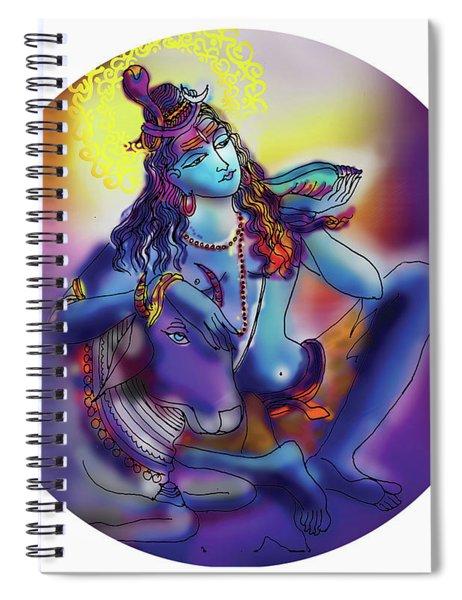 Neelakanth Shiva  Spiral Notebook