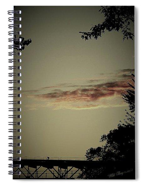 Negative Space Spiral Notebook