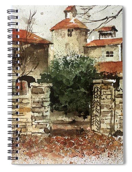 Neighbors Gate Spiral Notebook