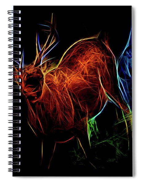 Neon Buck Spiral Notebook