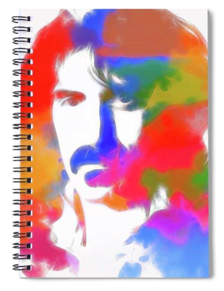 Neon Frank Zappa Spiral Notebook