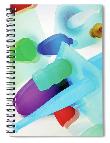 Neon In Sunlight Spiral Notebook