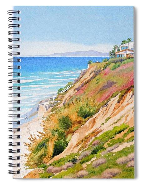 Neptune's View Leucadia California Spiral Notebook
