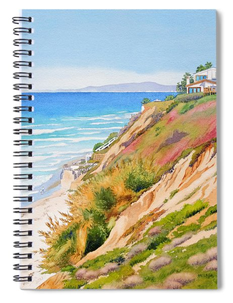 Neptune's View Leucadia California Spiral Notebook