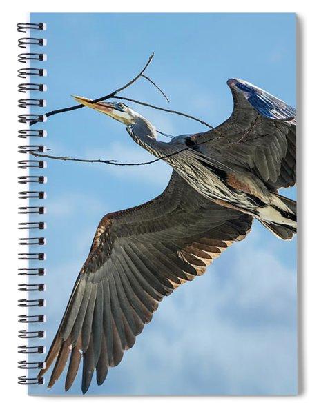 Nest Builder Spiral Notebook