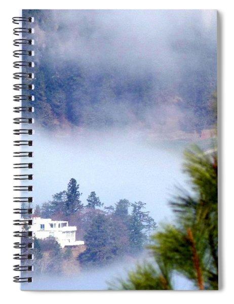 Nestled In The Fog Spiral Notebook