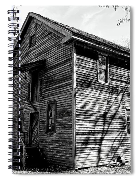 Nestled In The Valley Spiral Notebook