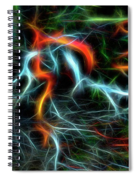 Neurons On Fire Spiral Notebook