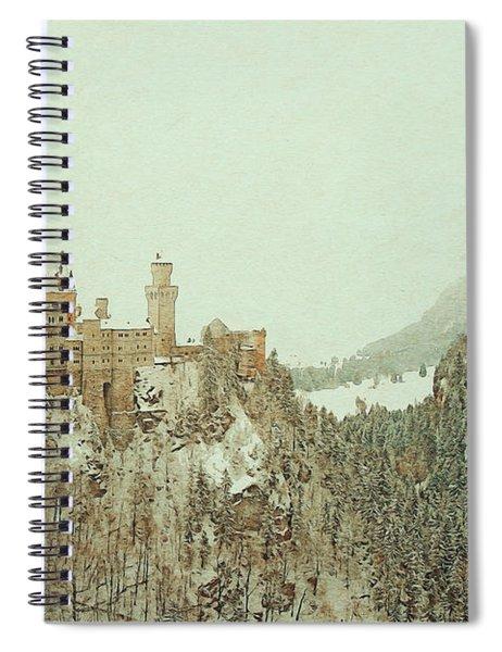 Neuschwanstein Castle Germany Spiral Notebook